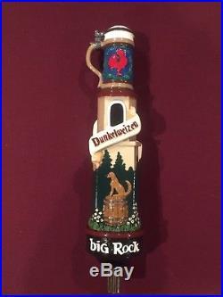 Big Rock Dunkelweizen Beer Tap Handle