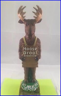 Big Sky Brewing Moose Drool Brown Ale Beer Tap Handle Ultra Rare Figural Tap