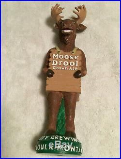 Big Sky Moose Drool Beer Tap Handle Visit my ebay store brown ale figural