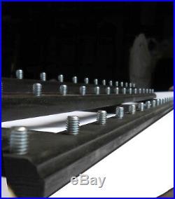 Black 51 Beer Tap Handle Display (holds 51 Handles On 3 Levels)