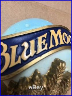 Blue Moon Tap BEER TAP HANDLE RARE EXTREMELY RARE