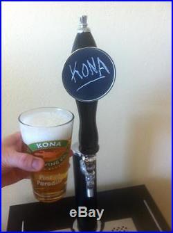 Brand New Full Size Chalkboard beer kegerator tap handle chalk board MADE IN USA