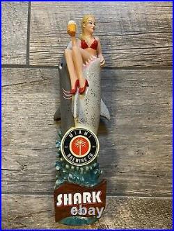 Brand New In The Box Miami Brewing company Shark Bait Tap Handle Bikini Lady NIB