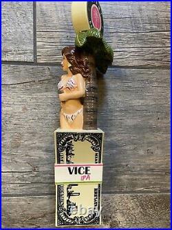 Brand New In The Box Miami Brewing company Vice Girl Tap Handle Bikini Lady NIB