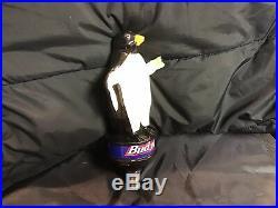 Bud Ice Penguin Beer Tap Handle