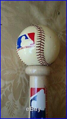 Budweiser Base Ball/Bat Beer Tap Handle
