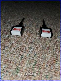 Budweiser Tapper Arcade Machine Tap Joystick Handles (Nice Set)