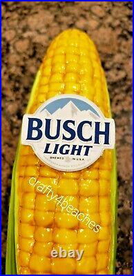 Busch Light Beer Corn Tap Handle For the Farmers Farming in John Deere colors
