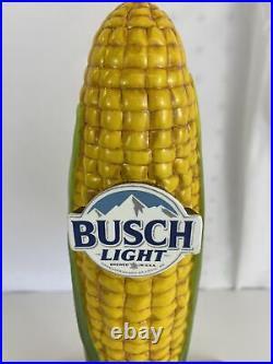 Busch Light Beer Ear Of Corn Tap Handle Buschhhhh Light New In Box