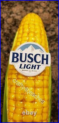 Busch Light Beer authentic corn tag tap handle For the Farmers John Deere colors