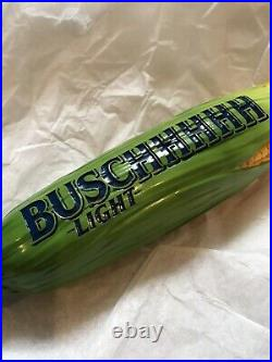 Busch Light Corn Tap Handle Corncob Taphandle Tapmarker NEW IN BOX