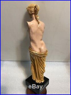 CIRCLE V. BREWING VENUS BLONDE beer tap handle. INDIANA. Figural Woman. ART