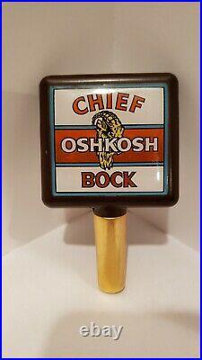 Chief Oshkosh Bock Tap Handle Brewery Wisconsin
