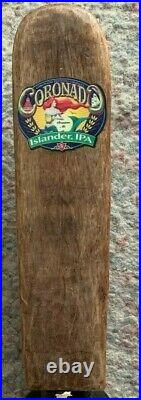 Coronado Brewing Islander Ipa Figural Beer Tap Handle Rare Vintage Easter Island