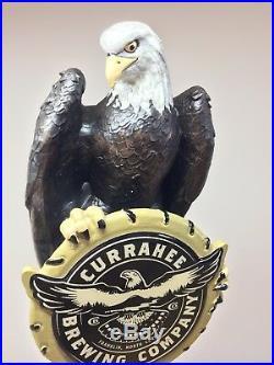 Currahee Brewing American Bald Eagle Hawk Bird IPA Brew Beer Tap Handle NIB
