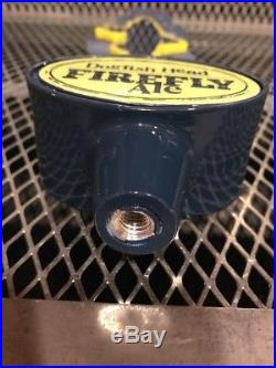 DOGFISH HEAD BREWERY Deleware RARE Firefly Ale LIGHT UP Beer Tap Handle