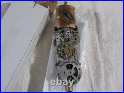 DOGFISH HEAD STEAMPUNK ANALOG Beer Tap Handle. New in Original Box