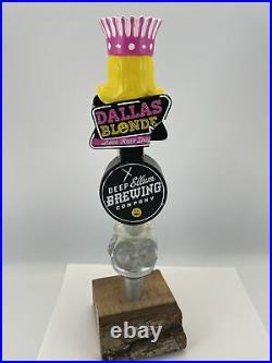 Deep Ellum Dallas Blonde Beer Tap Handle Rare Figural Girl Beer Tap Handle Lot C