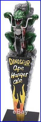 Dinosaur Ape Hanger Ale Figural Beer Tap Handle Mint Condition