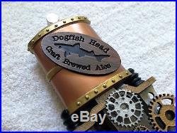 Dogfish Head Steampunk Uber Figural Beer Tap Handle NIB Mega Rare