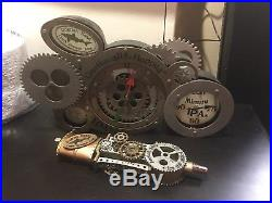 Dogfish head tap handle Steampunk & Clock