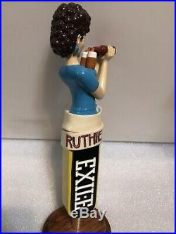 EXILE RUTHIE beer tap handle. IOWA