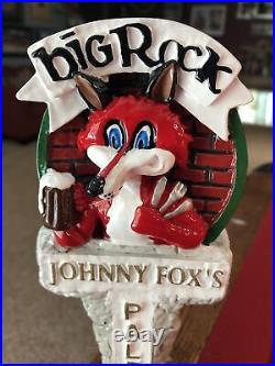 EXTREMELY RARE & NEW Big Rock Brewery Foxie Beer Tap Handle