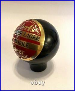 Eilerts Beer Cleveland Ohio ball knob tap handle vintage brewery brewing antique