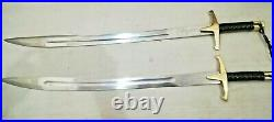 Ertugrul Gazi Sword Stainless Steel Sword with Scabbard & Lather Tap Handle