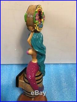 FLORIDA KEYS BREWING BLUE HAIR MERMAID beer tap handle. FLORIDA
