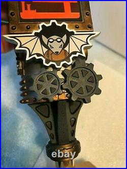 FLYING MOUSE BREWERY FLY MOB STEAMPUNK 4 FOUR beer tap handle. Closed brewery