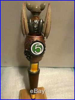 FLYING MOUSE FLY MOB 3 5 beer tap handle. Troutville, Virginia. Closed brewery