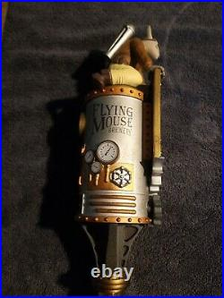 Flying mouse tap handle. Out of business