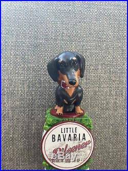 Frankenmuth Brewery Little Bavaria Pilsner Dachshund Dog Beer Tap Handle