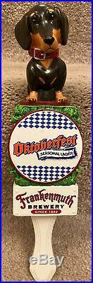 Frankenmuth Brewery Oktoberfest Dachshund Dog Beer Tap Handle