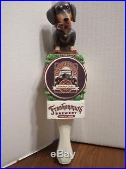 Frankenmuth Old Detroit Daschund Dog Since 1862 Beauty 11 Beer Keg Tap Handle