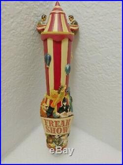 Freak Show Circus Big Top Michael David Winery NIB 10 Draft Beer Keg Tap Handle