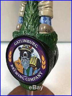 GAITLINBURG SMOKEY THE BEAR TOURIST beer tap handle. PENNSYLVANIA