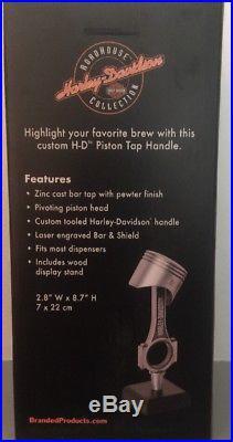 Genuine Harley Davidson Bar And Shield Piston Tap Handle