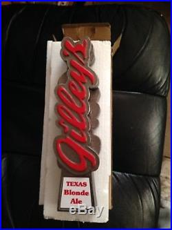 Gilley's Beer Tap Handle From Gilleys Bar In Pasadena Texas