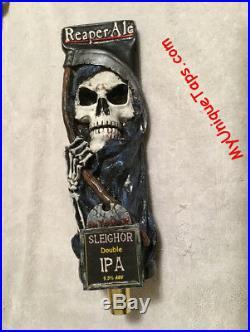 Grim Reaper Sleighor Ale Beer Tap Handle -Visit my ebay store Death Skeleton