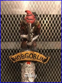 HOBGOBLIN ENGLISH ALE Fig MAD Troll Tree & Sword NEW STYLE Beer Tap Handle