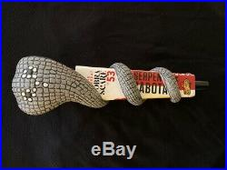 HTF Mother's Brewing Compnay Cobra Scare'53 beer tap handle NEW and COOL