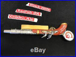 HTF! Remember Goliad beer tap handle NEW & AMAZING