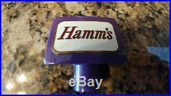 Hamm's Purple Beer Knob Tap handle
