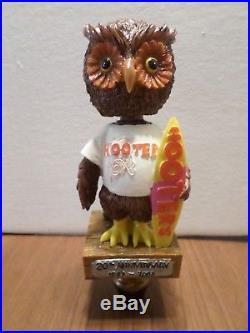 Hooters Owl Colorful Double Decade 8 Draft Beer Keg Tap Handle