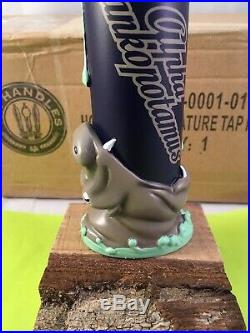 Hop Dogma Alpha Dankopotamus Beer Tap Handle Rare Figural Hippo Beer Tap Handle