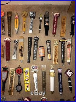 Huge Lot 85 Craft Beer Brewery Tap Handles Home Bar Unique Rare Lot Collection