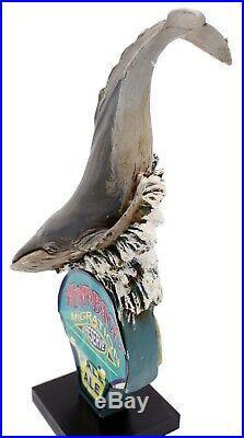 Humpback Migration Reserve Pale Ale Whale 3D Figural Beer Tap Handle