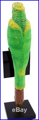 Hussongs Hussong's Cerveza 3D Figural Parrot Beer Tap Handle